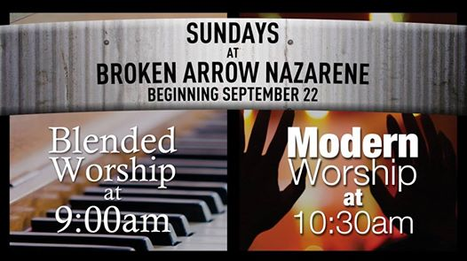 BA Nazarene going to 2 services!